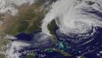 Sandy: satélite capta la creación y la extinción del huracán [VIDEO]