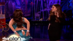 Ellen DeGeneres en divertido disfraz de Sofía Vergara por Halloween [VIDEO]