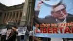 Exterrosistas manifestaron por el canal del Movadef que fueron presas políticas[VIDEO]