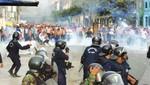 La policía detuvo a dos vándalos que participaron en los desmanes de La Parada