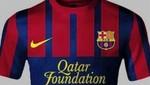 Así sería la camiseta del Barcelona para el 2013