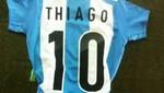 Thiago Messi recibió la '10' de la selección argentina [FOTO]