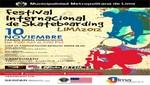 Mañana sábado de 10 de noviembre. Ccnvocatoria de Prensa: Lima Celebra el I Festival Internacional de SKA Teboarding 2012