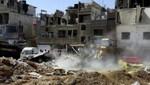 Las explosiones en Siria hieren y matan a decenas de soldados