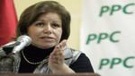 Lourdes Flores respalda candidatura de Walter Gutiérrez