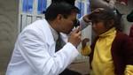 Niña invidentes de Huayllaccoto iniciarán tratamiento Médico