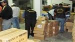 En Chiclayo se incautó más de tres toneladas de mercancía de contrabando