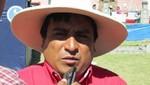 Idelso Hernández: Lucharemos por inviabilidad del proyecto Conga [Audio]