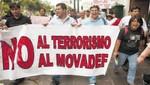 Proyecto de Ley condena la apología al terrorismo