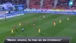 Hinchas del Mallorca a Lionel Messi: 'Enano, tu hijo es de Cristiano' [VIDEO]