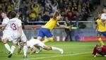 Zlatan Ibrahimovic anotó un trmendo golazo de chalaca desde fuera del área [VIDEO]