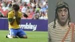 Penal fallado de Neymar le cayó al 'Chavo del 8' [VIDEO]