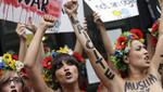 Líder del polémico grupo feminista FEMEN está prohibida de ingresar a Rusia