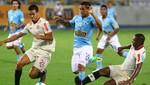 Universitario de Deportes recibirá hoy a Sporting Cristal en el estadio Monumental