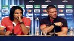Diego Simeone: 'Falcao es el mejor 9 del mundo'