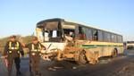 Piura: accidente vehicular deja 5 muertos y 15 heridos en vía Paita-Sullana