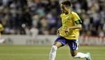Neymar es elegido como el jugador del año en Brasil