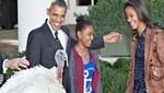 Obama continúa la tradición de Acción de Gracias