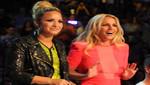 Demi Lovato y Britney Spears ni se miran en Factor X