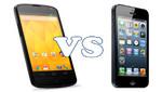 iPhone 5: Nexus 4 arranca más rápido que el móvil de Apple [VIDEO]