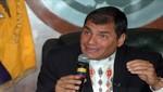 Rafael Correa destaca compromiso de Perú y Ecuador para luchar contra la pobreza