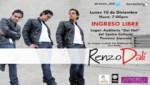 Renzo Dali inicia gira con Concierto Gratuito (Video)
