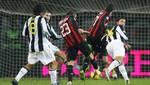 Serie A: Milan superó 1 a 0 a la Juventus