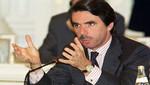Jose María Aznar: Artur Mas es golpista y desleal