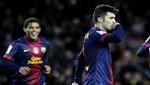 Copa del Rey: Barcelona venció 3-1 al Alavés con 'doblete' de David Villa [VIDEO]