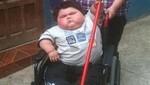 Bebé de casi dos años sorprende con sus 38 kilos