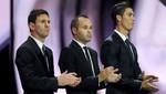 Messi, Cristiano Ronaldo e Iniesta son los finalistas para ganar el 'Balón de Oro'