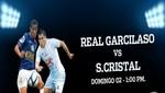Todo listo para el encuentro de mañana entre Sporting Cristal y Real Garcilaso