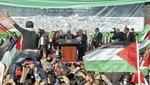Mahmud Abbas fue recibido a multitud por palestinos