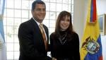 Ecuador pedirá a Cristina Fernández la sentencia de embargo contra Chevron en Argentina
