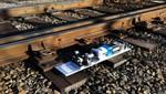 Energía electromagnética genera electricidad a partir de las vibraciones de las vías del tren