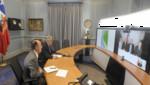 Canciller chileno sostuvo una videoconferencia con el presidente Sebastián Piñera  desde La Haya