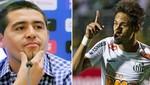 Santos planea juntar a Neymar y Riquelme en el 2013