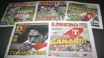 Conozca las portadas de los diarios deportivos para hoy jueves 6 de diciembre