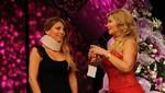 El Gran Show: Delly Madrid reapareció para anunciar que se retira de la competencia [VIDEO]