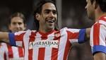 Radamel Falcao anotó 5 goles en la victoria del Atlético de Madrid [VIDEO]