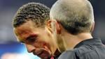 Hincha del Manchester City le rompió la ceja a Rio Ferndinand  [VIDEO]