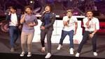 One Direction inaugura la temporada navideña en Nueva York