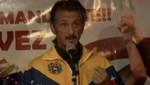 Sean Penn participa en vigilia por la salud de Hugo Chávez en Bolivia [VIDEO]