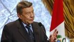 Canciller peruano: Las relaciones entre Perú y Chile tienen que intensificarse