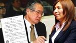 Fujimori y su Cordera de Dios