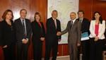 Ministerio de Vivienda recibió a la misión empresarial de Cataluña, España