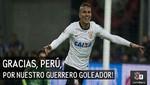 Corinthians agradece al Perú por el talento de Paolo Guerrero