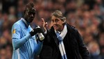 Mancini a Balotelli: ¿Sabes que has sido padre?