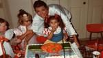 Kim Kardashian publicó tierna imagen de su niñez