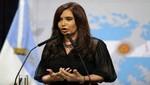 Cristina Fernández por regreso de fragata: una vez más le cumplí a la Argentina